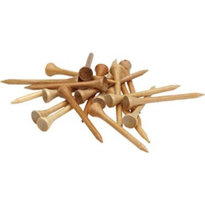 Tés en bois 3 1/4 (paquet de 100)