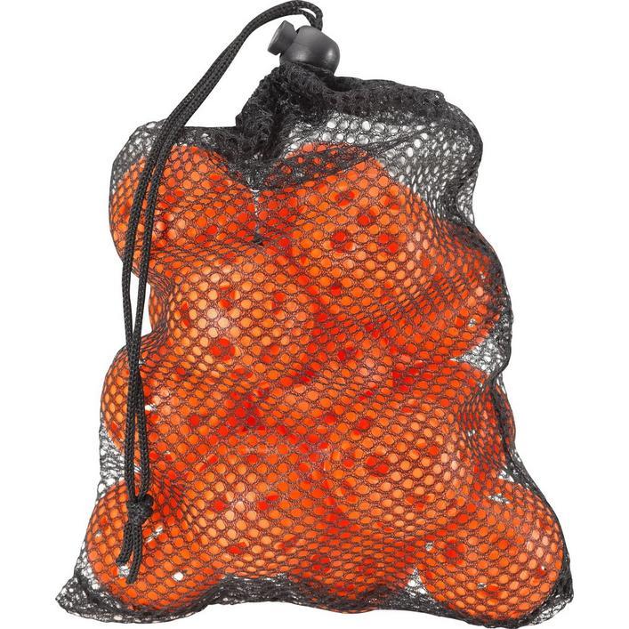 Balles de pratique Airflow dans un sac en mailles – Paquet de 18