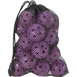 Airflow Ladies Practice Balls in Mesh Bag - 18 Count