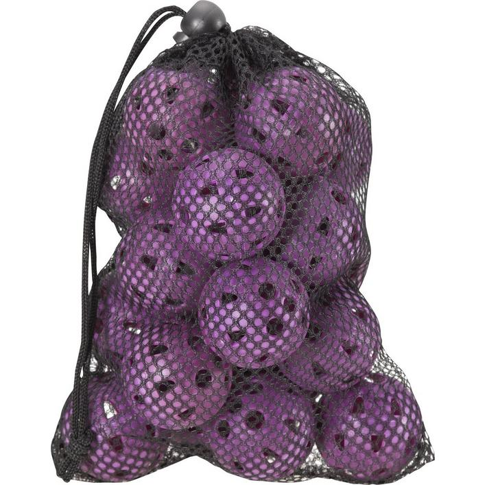 ZTech Airflow Ladies Practice Balls in Mesh Bag - 18 Count