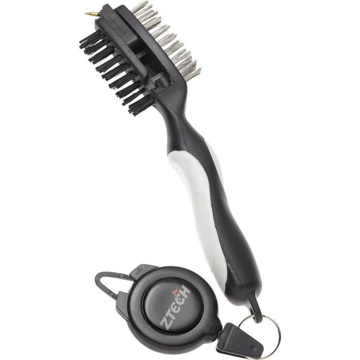 Universal Club Brush with Retractable Cord