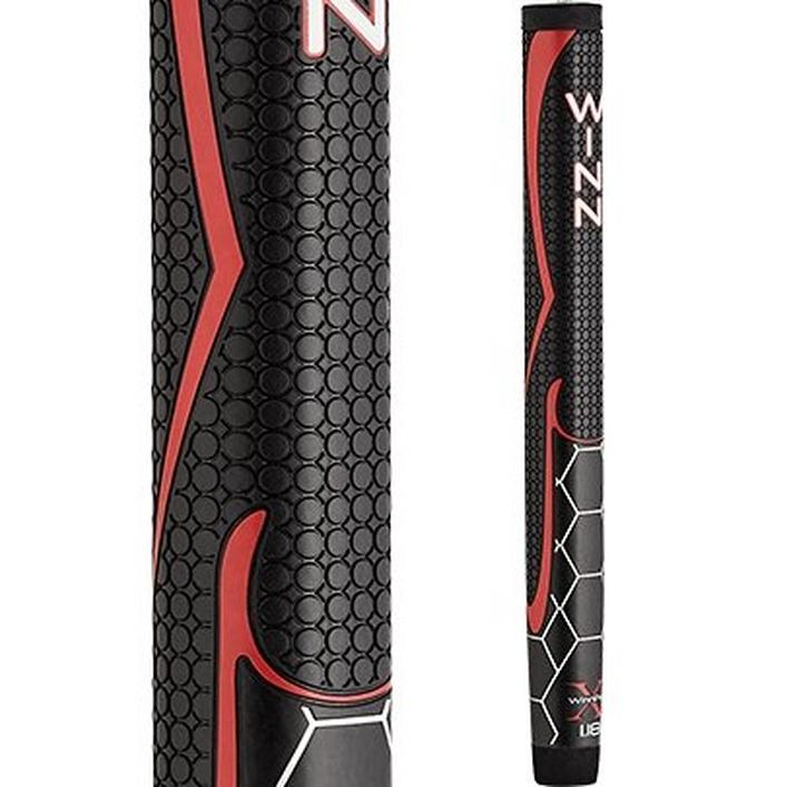 WinnPro X 1.18 Putter Grip - Black/Red
