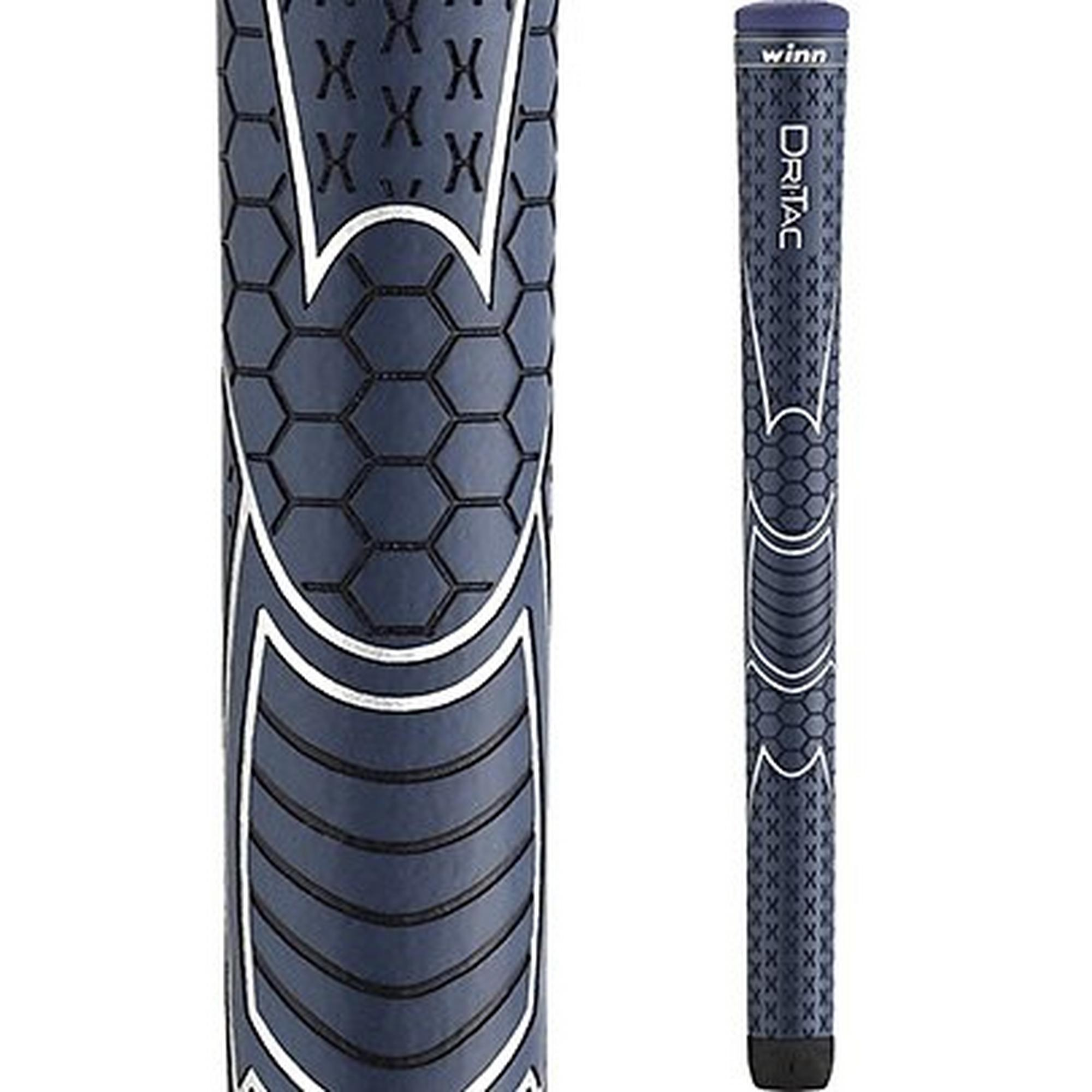 Dri-Tac Midsize Grip - Navy Blue (+1/16 Inch)