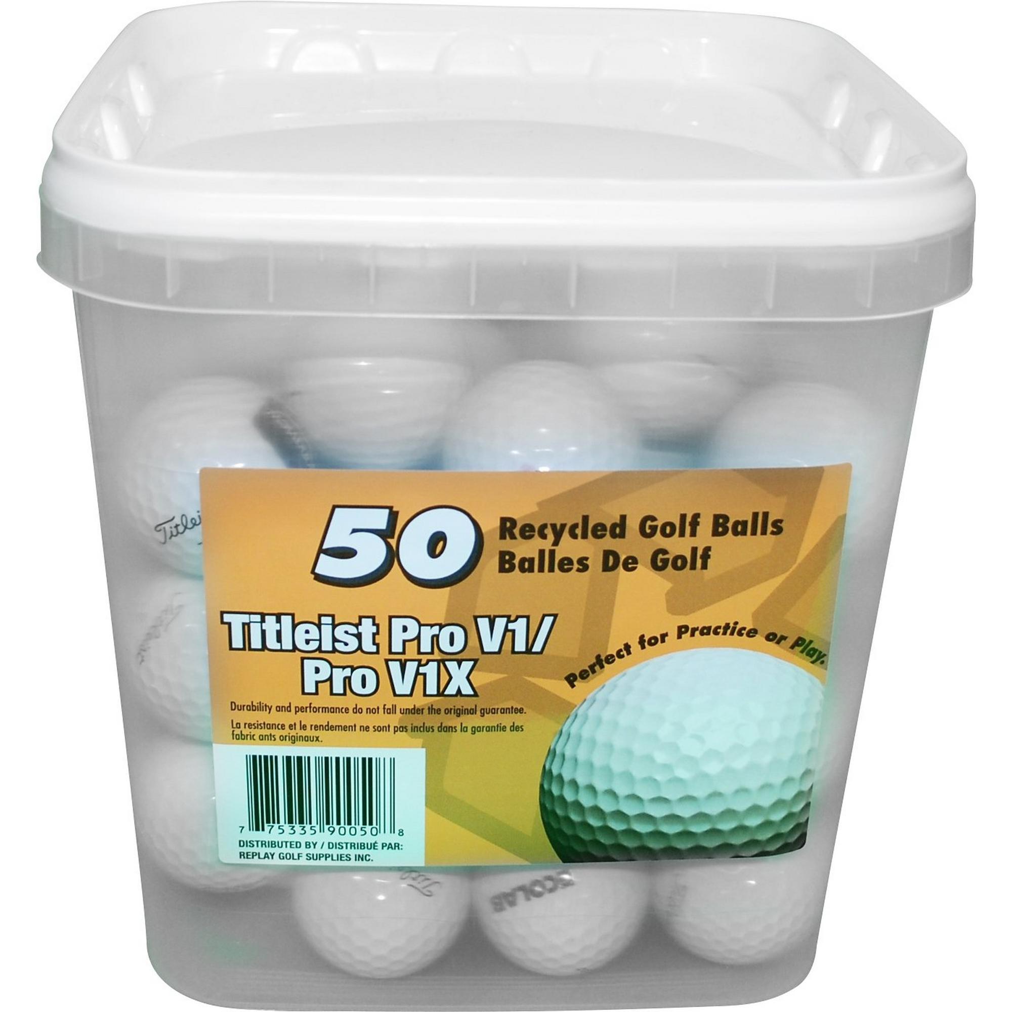 Titleist Pro V1/Pro V1x Recycled Golf Balls - 50PK