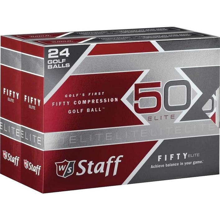 50 Elite Double Dozen - White