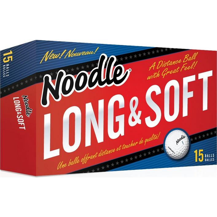 Balles Noodle Long and Soft, 15 balles