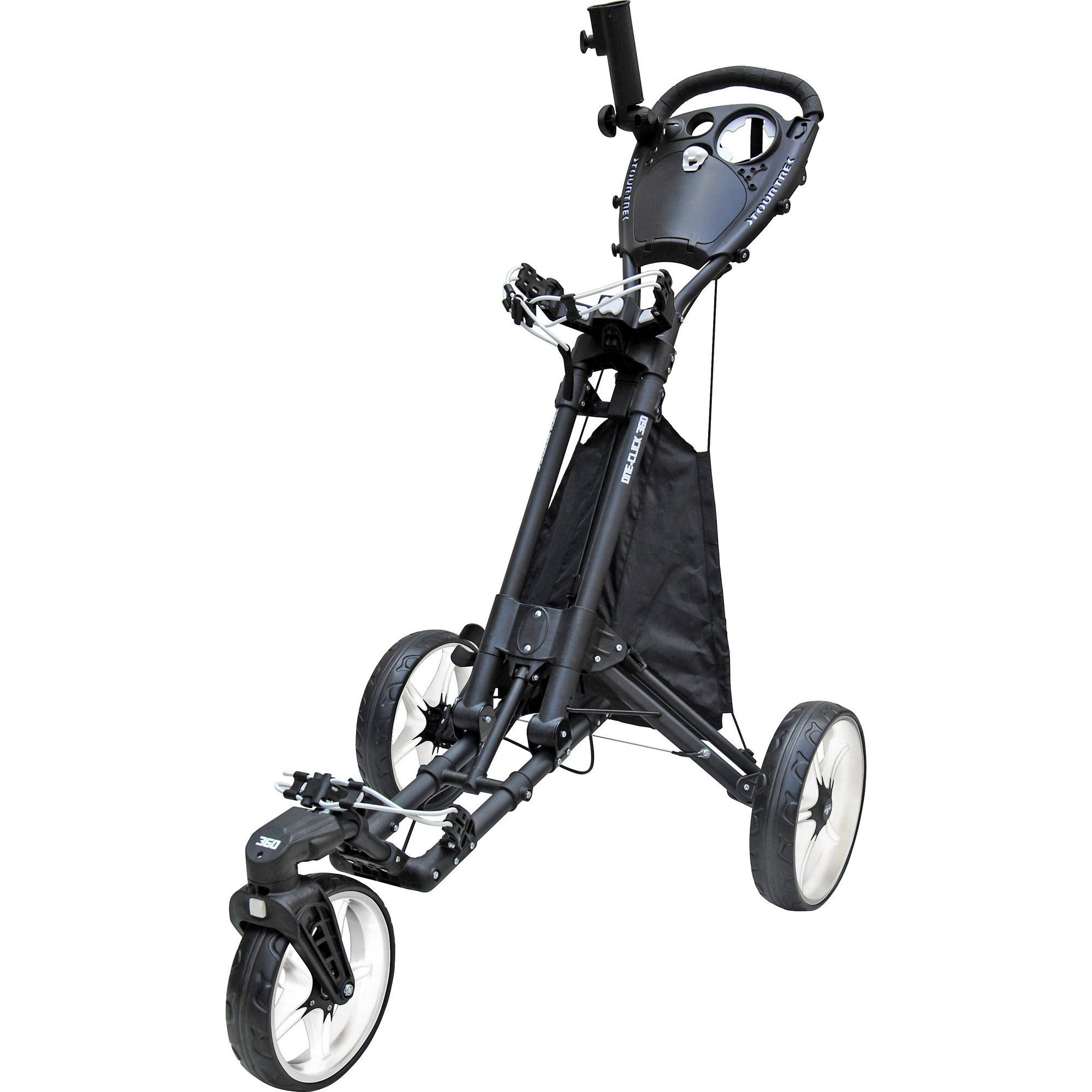 One-Click 360 Push Cart