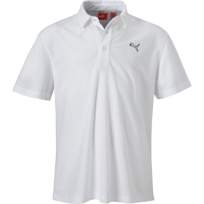 PUMA Boys Tech Short Sleeve Polo