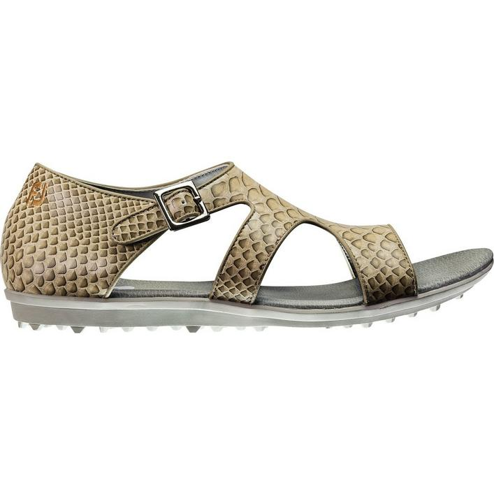 Women's Closeout Naples Collection Spikeless Sandals - Beige/Brown (FJ# 92369)
