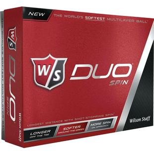 DUO Spin Golf Balls - White