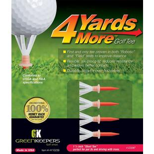 4 Yards More 1 3/4 Inch Short Tee