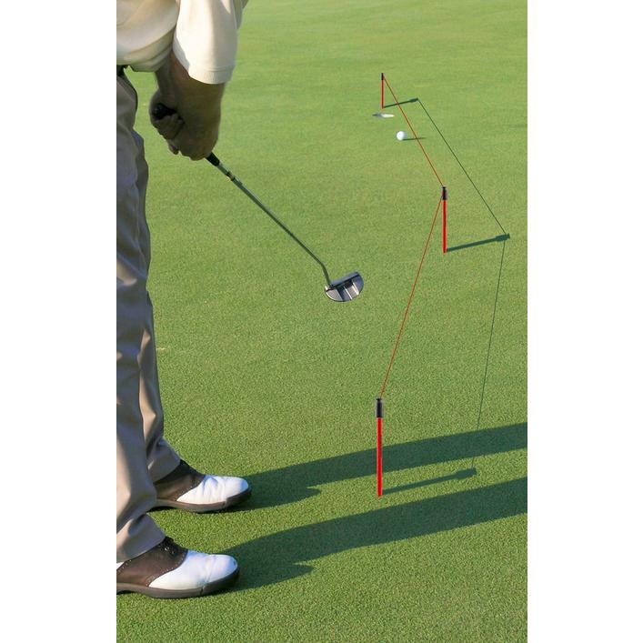 Système d'entrainement pour coups roulés « See-The-Line »
