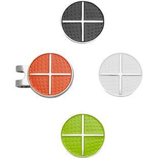 Pince pour casquette avec marqueurs de balle