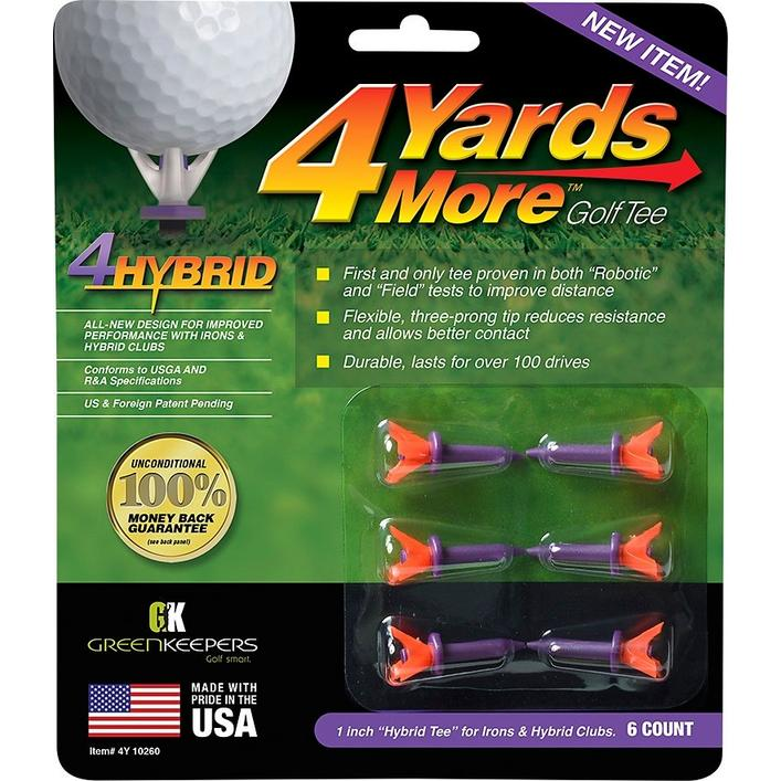 4 Yards More Tees - 1 Inch Hybrid