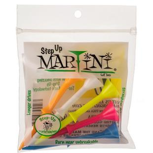 Martini Step-Up Tees 3 1/4ININ - (5PK) ASST