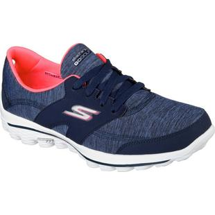 Go Walk 2 Backswing Heathered Spikeless Golf Shoes - NAVY/PINK (#13637-NVPK)