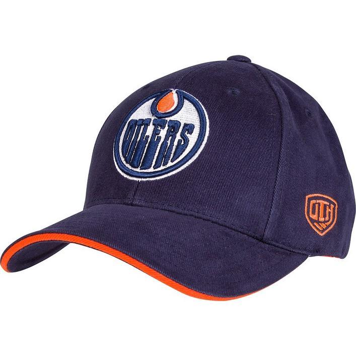 Men's Raised Replica Edmonton Oilers Cap