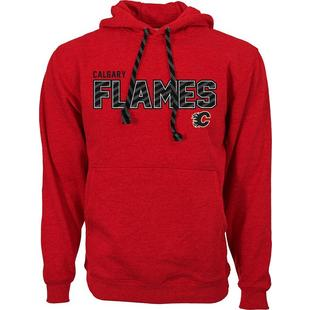 Men's Sideline Calgary Flames Hooded Pullover