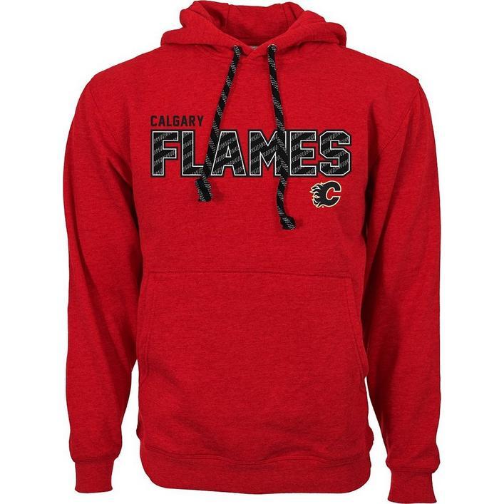 Men's Sideline Calgary Flames Hooded Pullover