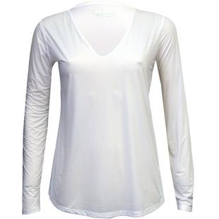 Women's Sun Protection V-Neck Top