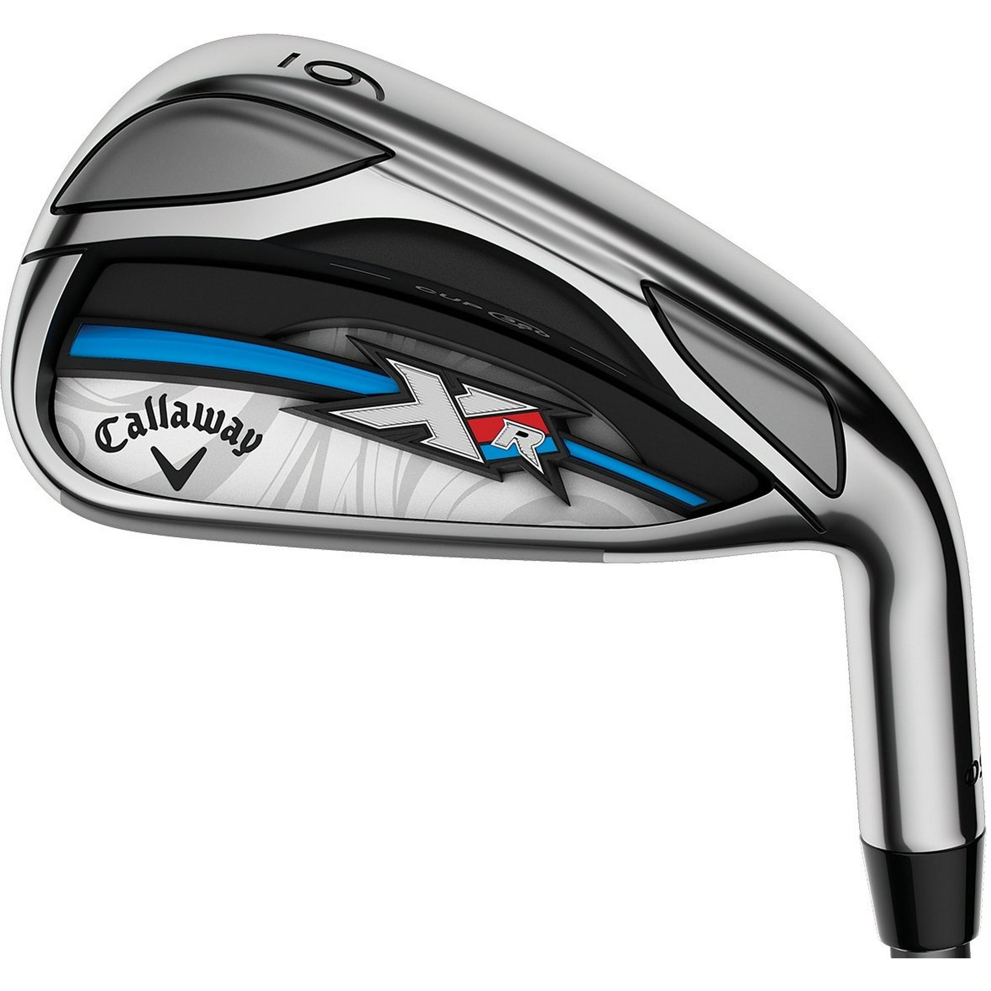 Women's XR OS 5-PW, AW Iron Set with Graphite Shafts