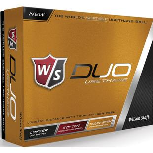 DUO Urethane Golf Balls - White