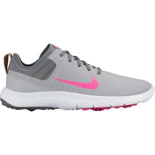Women's FI Impact 2 Spikeless Golf Shoes - Wolf Gray/White/Pink Blast