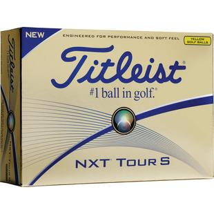 NXT Tour S Golf Balls - Yellow