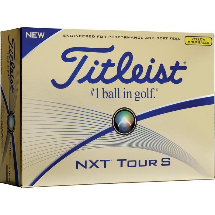 NXT Tour S Golf Balls - Yellow