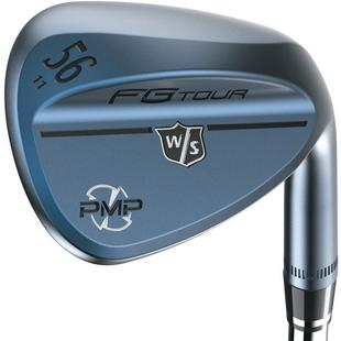 FG Tour PMP Gun Metal Blue Wedge with Steel Shaft