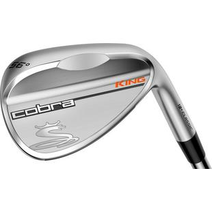 King Satin Wedge with Steel Shaft