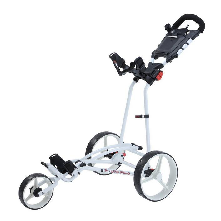 Auto Fold Plus 3-Wheel Push Cart