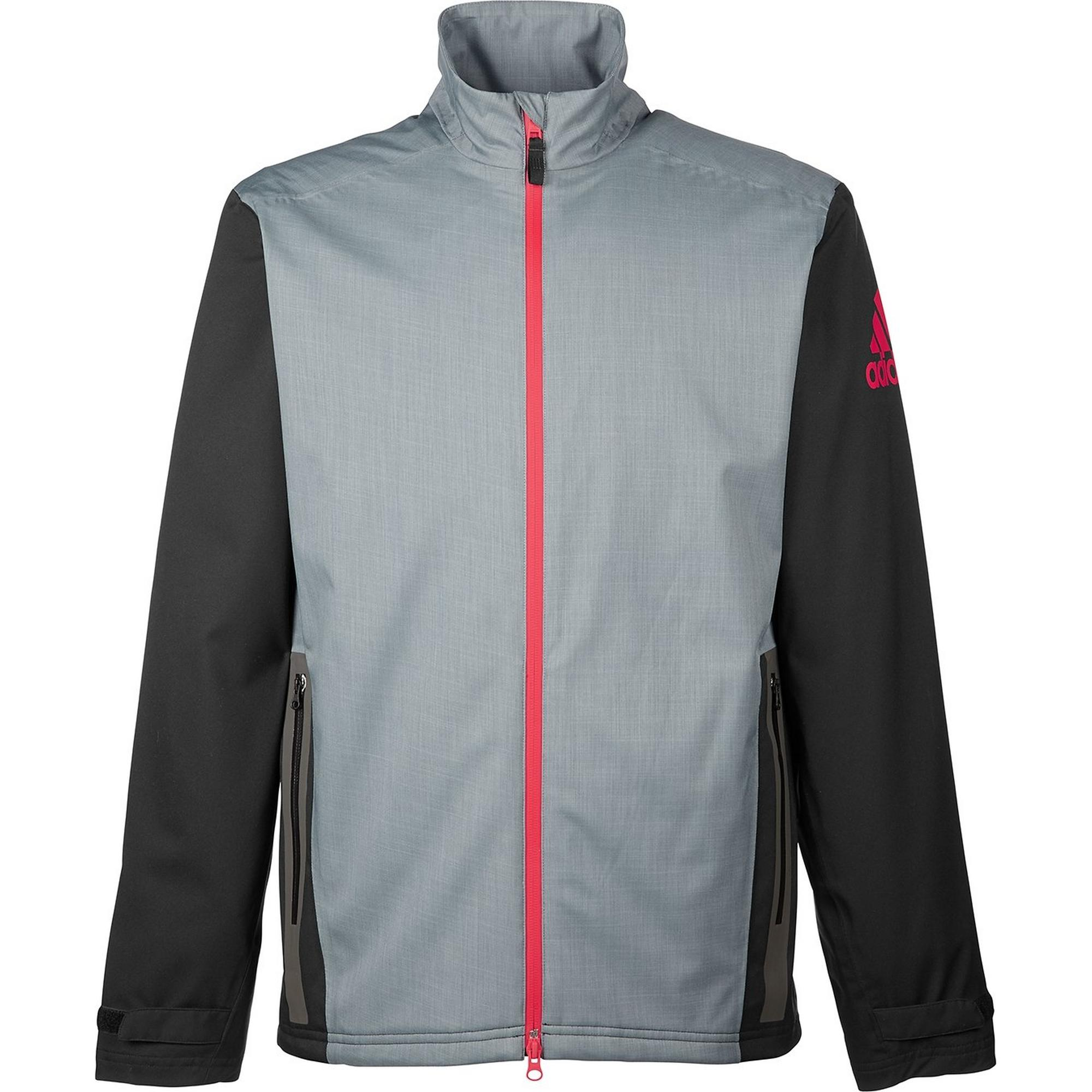 acb8c949d3 Men's Climaproof Heather Stretch Full Zip Jacket | ADIDAS | Golf Town  Limited