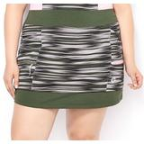 Women's Plus Size Jersey Pull On Knit Skort