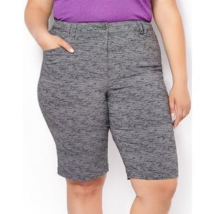 Women's Bermuda Printed Stretch Twill Shorts