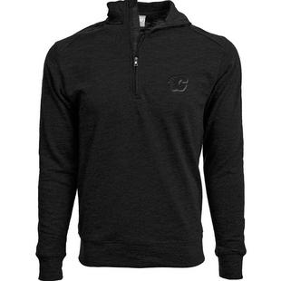 Men's Hudson Show Calgary Flames Quarter-Zip Sweater
