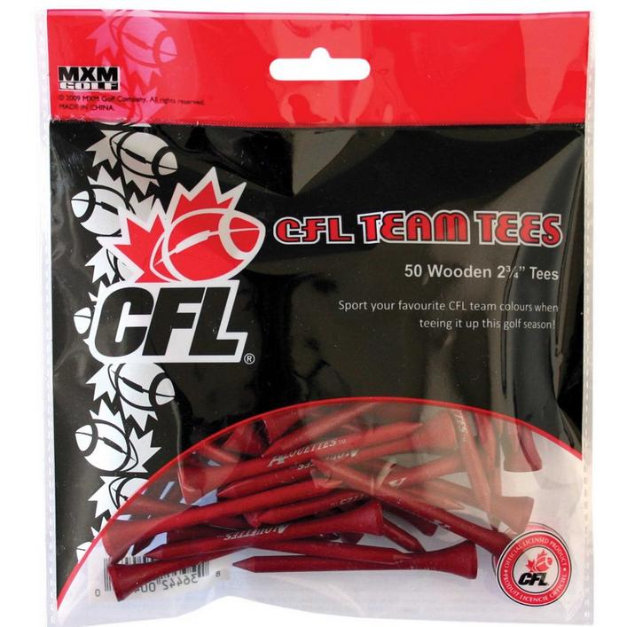 CFL Team Tees 2 3/4 50 Pack