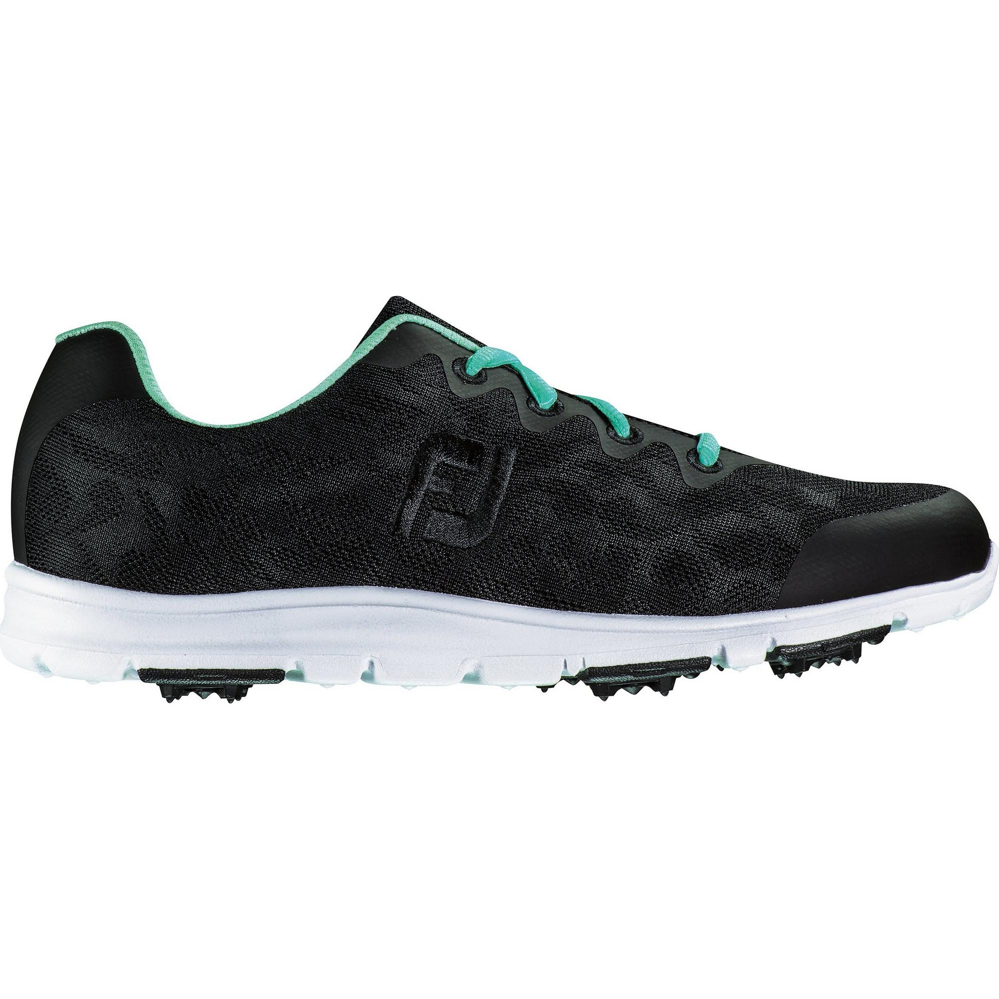 Women's enJOY Spikeless Golf Shoe- Black