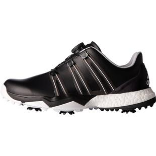 Men's Powerband BOA Boost Spiked Golf Shoes- Black/White