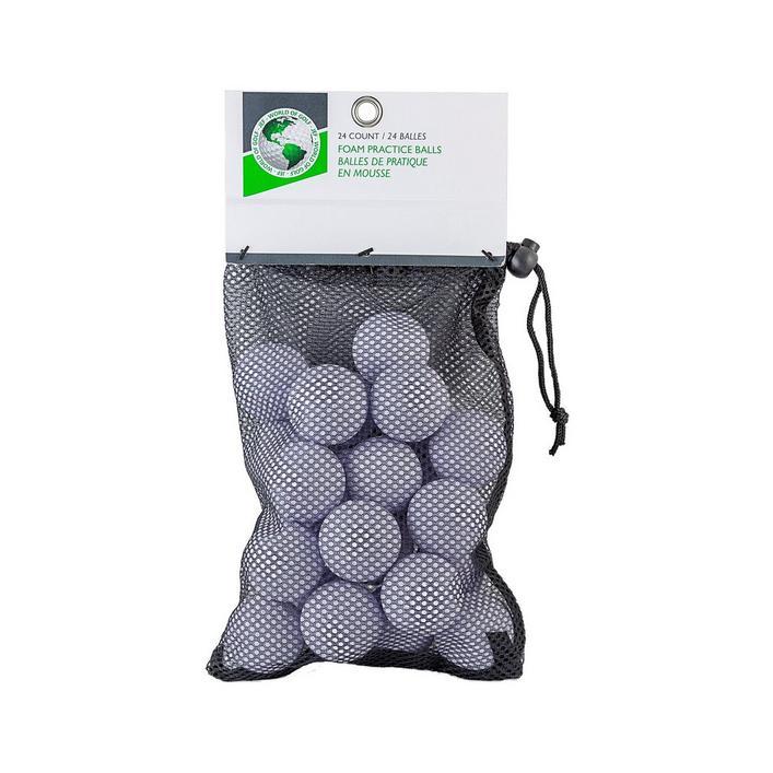 Balles de golf en mousse - Ensemble de 24
