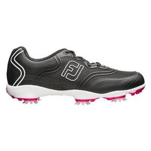 Women's Aspire Spiked Golf Shoe-Black (FJ# 98897)