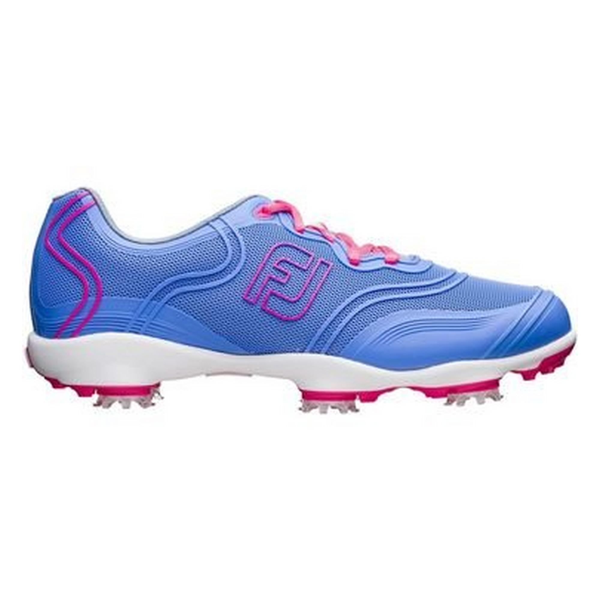 Women's Aspire Spiked Golf Shoe-Periwinkle