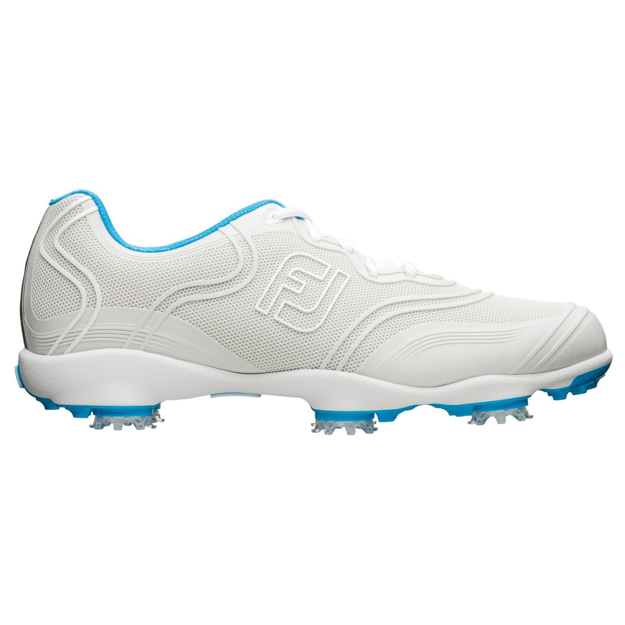 Women's Aspire Spiked Golf Shoe-White