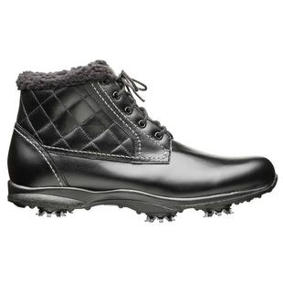 Womens Embody Bavaria Spiked Golf Boot - Black