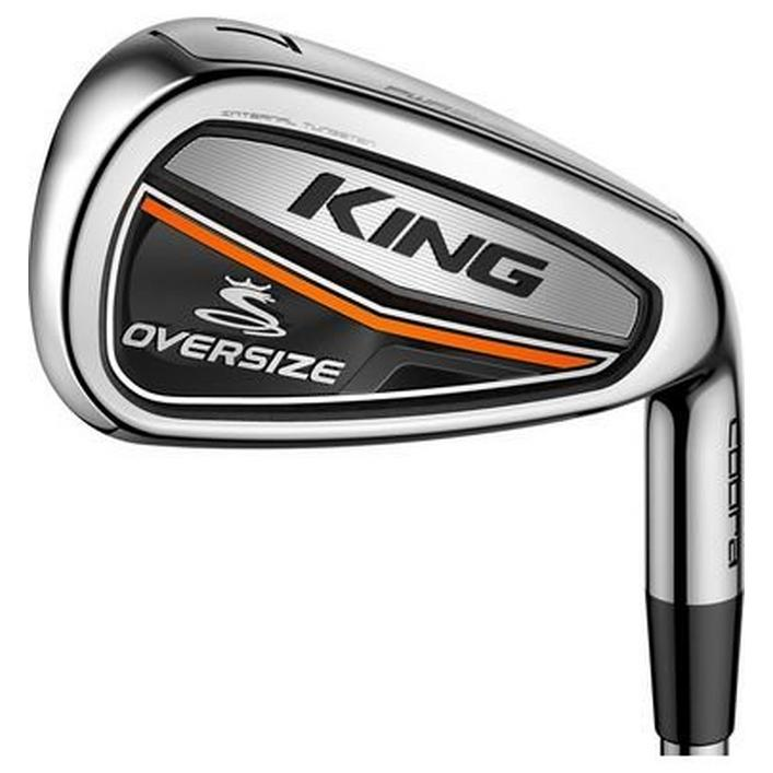King OS 4-PW, GW Iron Set with Steel Shafts - Left Hand Only