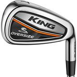 King OS 4-PW, GW Iron Set with Steel Shafts