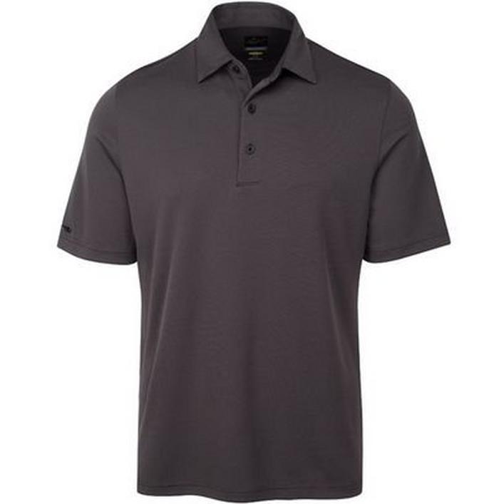 Men's Jacquard Short Sleeve Polo