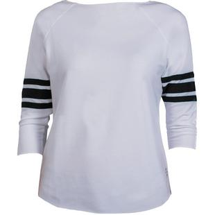 Women's Terry Long Sleeve Pullover