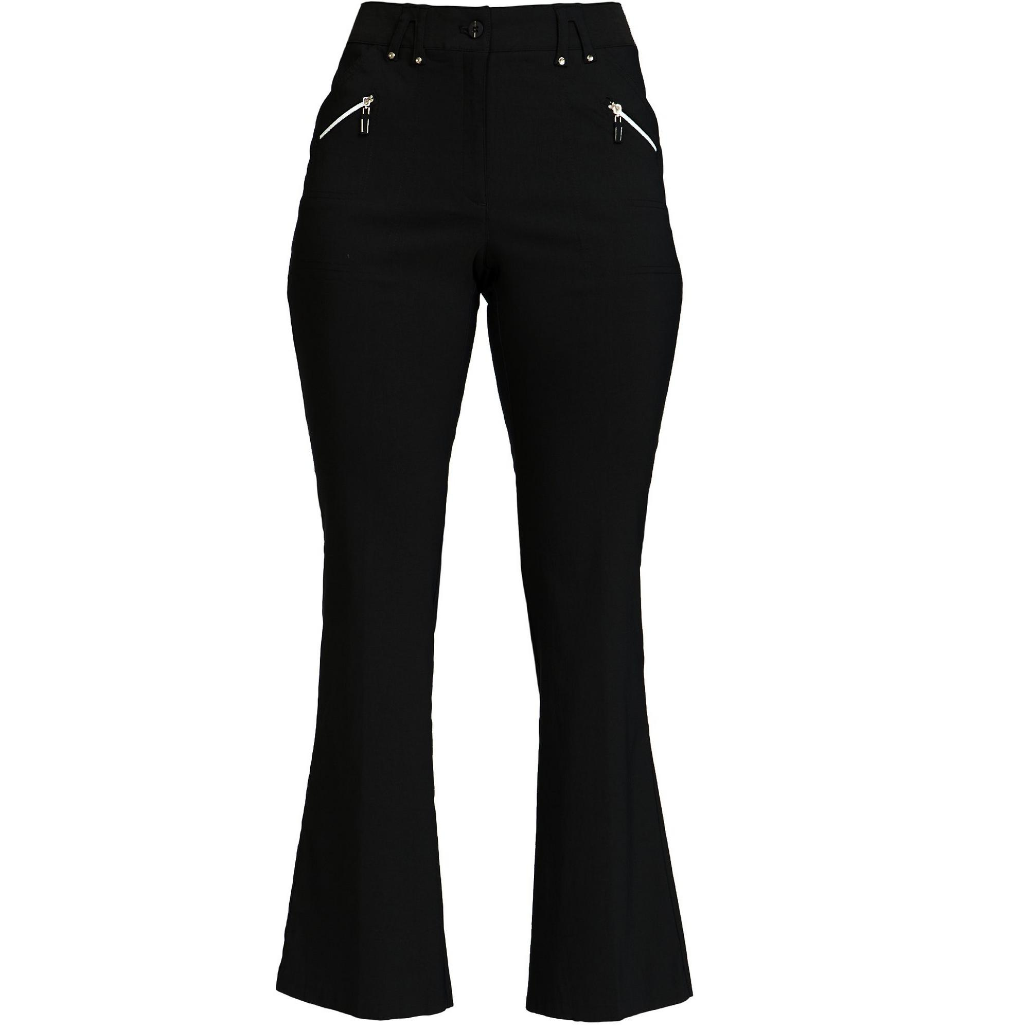 Women's Skinnylicious 41 Inch Fly Front Flare Pant