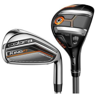 King F7 3H, 4H 5-PW Combo Iron Set with Steel Shafts
